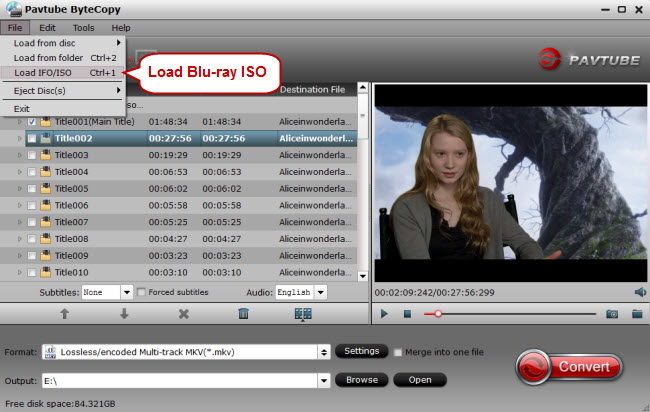 load blu-ray iso to blu-ray converter
