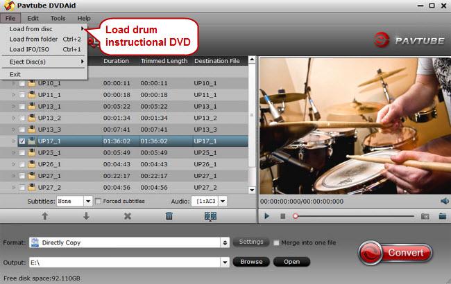 load drum instructional dvds