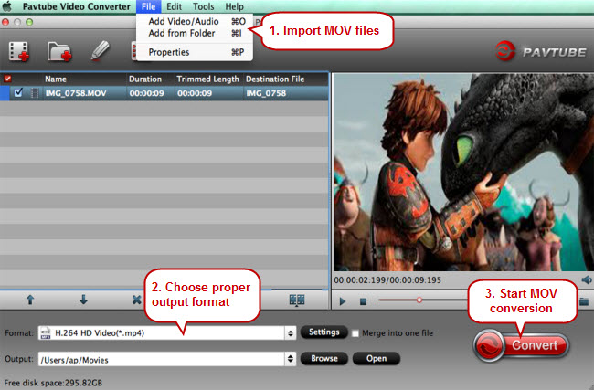 mov player mov video converter