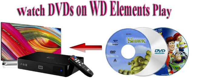 play dvd on wd elements play