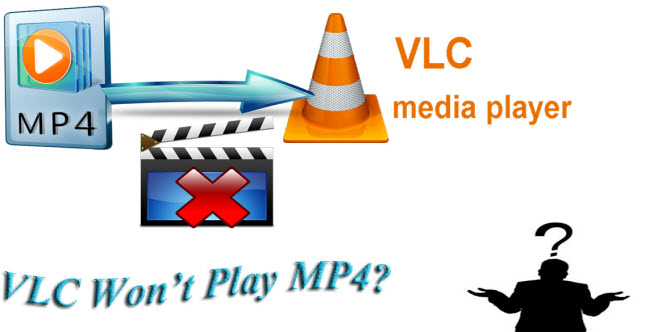 play mp4 in vlc
