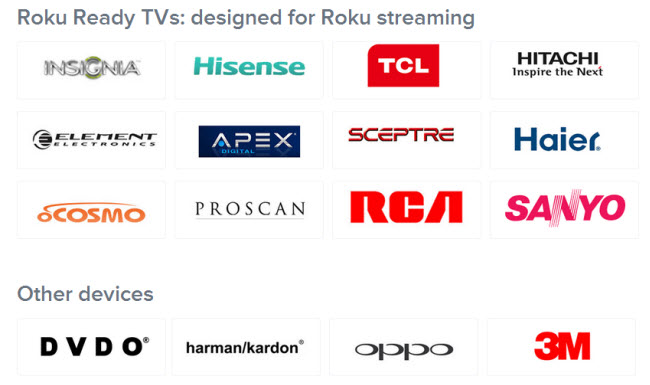 roku ready certified products