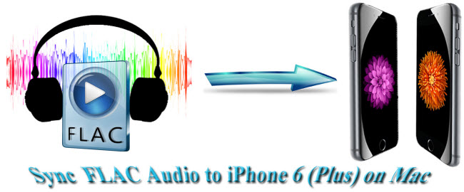 sync lossless flac audio to iphone 6 on mac