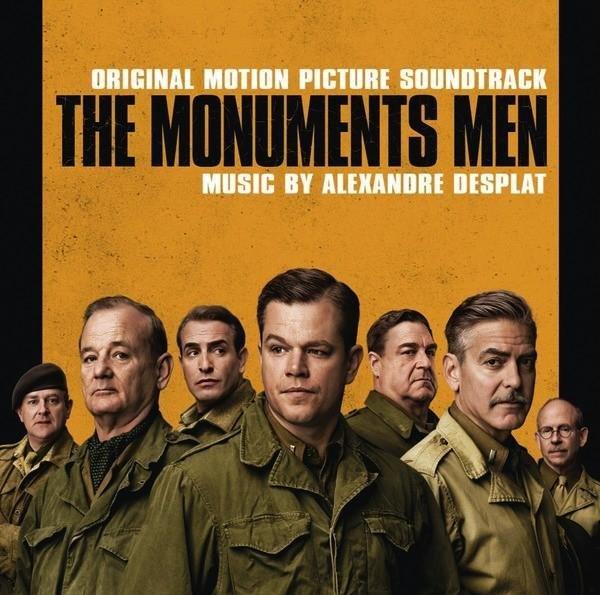 top dvd rentals the monuments men