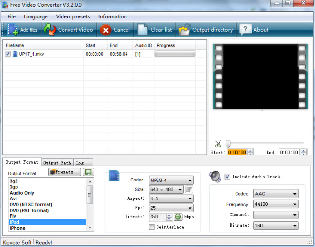top free video converter koyote free video converter