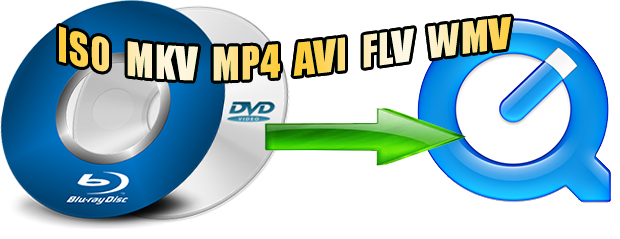 blu-ray dvd iso mkv mp4 avi flv wmv to quicktime mov