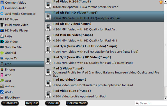 convert blu-ray dvd to ipad