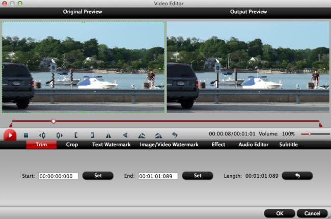 edit camera video