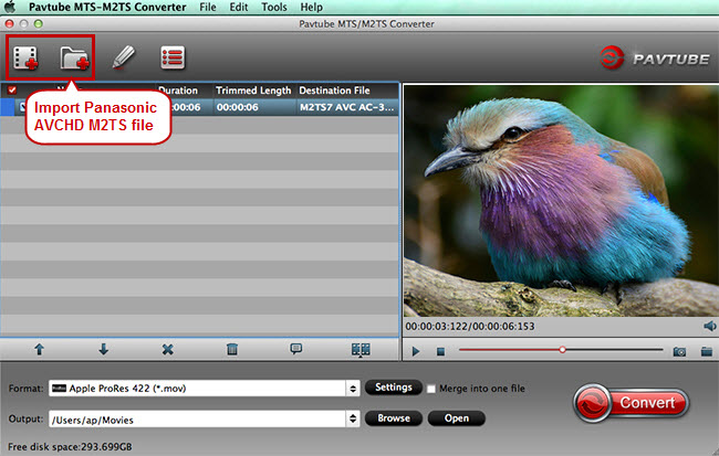 import m2ts to fcp converter