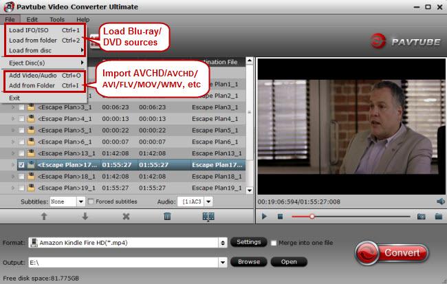 import blu-ray dvd video