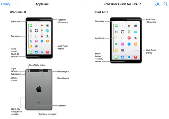 Apple Leaks the New iPad Air 2 and iPad Mini 3