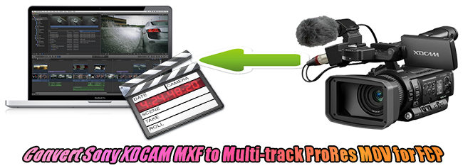 sony xdcam mxf to fcp