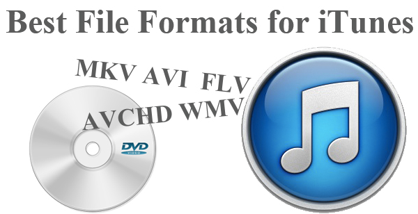 best video audio formats for itunes