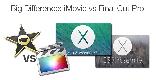 difference between imovie and fcp