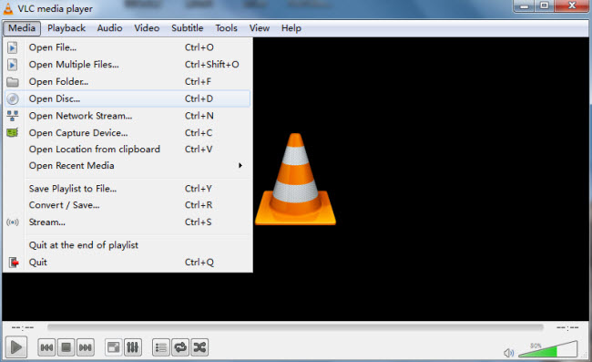 how to play dvd with vlc