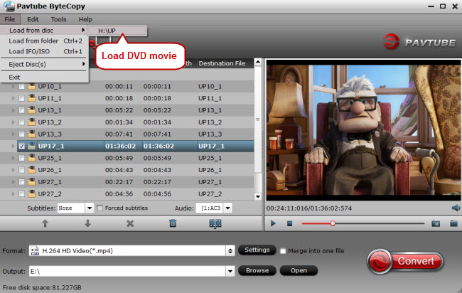 load dvd movie for ripping dvd to seagate wireless plus