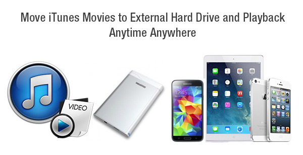 move itunes movies to external hard drive