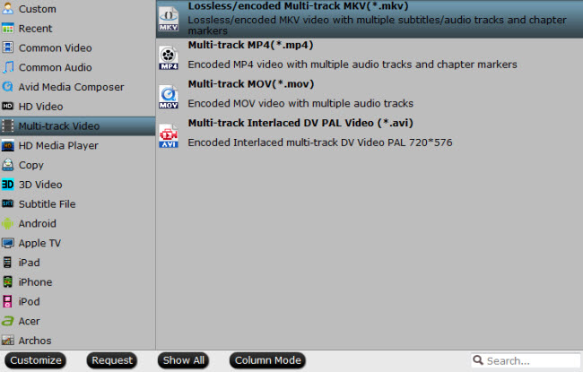 rip dvd to multi-track mkv