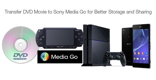 rip transfer dvd to sony media go