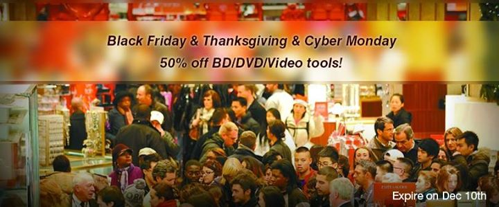 Pavtube Unveils 2014 Thanksgiving & Black Friday & Cyber Monday Crazy Promotion!