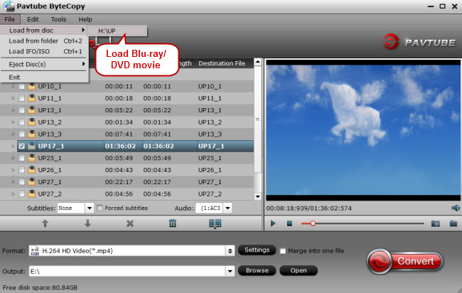 Load DVD for BeoVision Avant with NAS