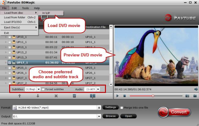 load dvd movie to copy dvd to cloud
