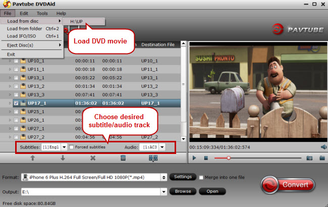 rip dvd to mp4, mov, mkv