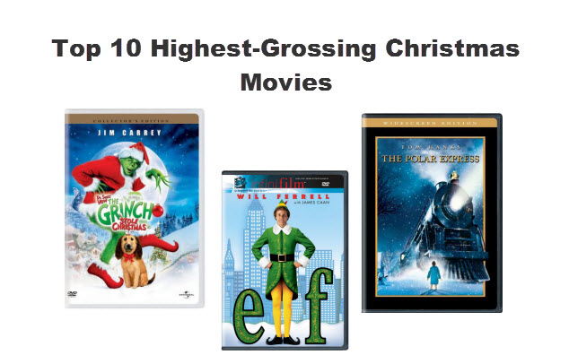 Top 10 high groissing Chrismas movies
