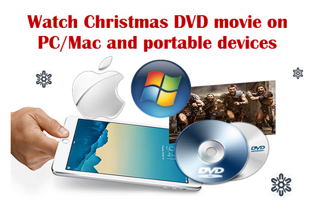 Watch Christmas DVD on PC Mac