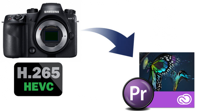 Edit Samsung NX1 H.265 video in Adobe Premiere Pro CC/CS