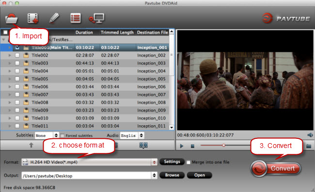 Video_ts to iTunes Converter