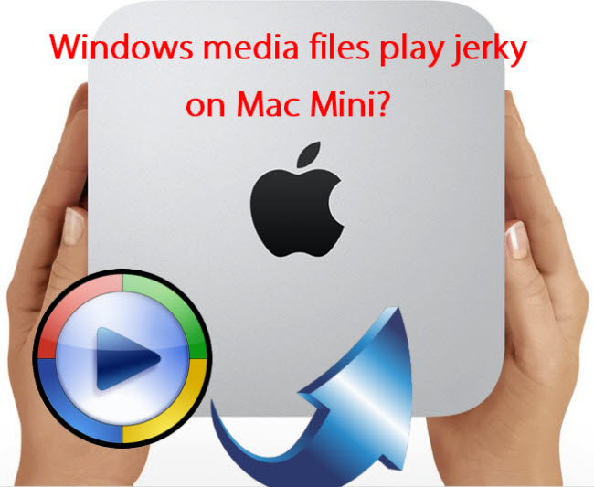 Windows Media Files play jerky on Mac Mini