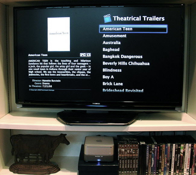 A Mac Mini as a home theater PC