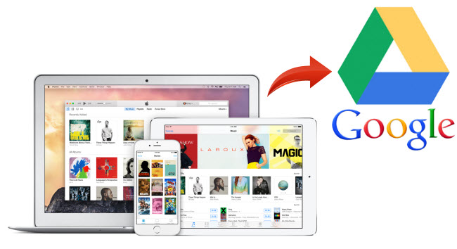 Sync iTunes M4V to Google Drive