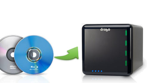 Backup BD DVD to Drobo