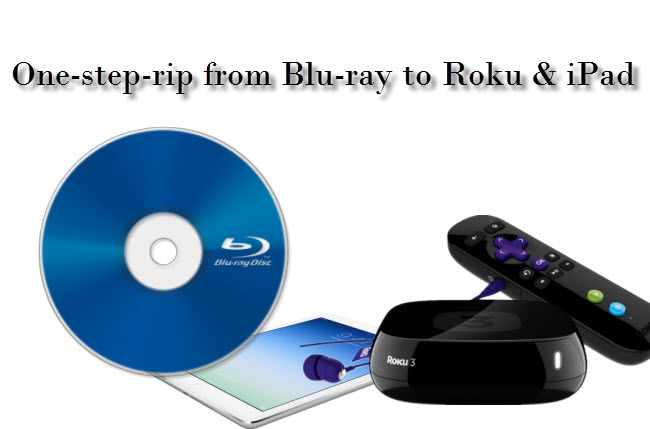 Rip Bluray to mp4 for Roku iPad