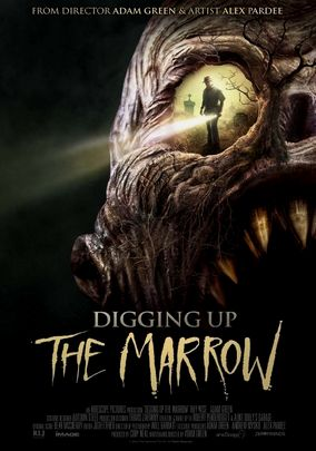 Digging Up the Marrow DVD cover
