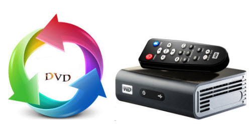 DVD to WD TV Live Plus Hub