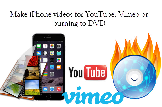 iPhone video to YouTube Vimeo DVD
