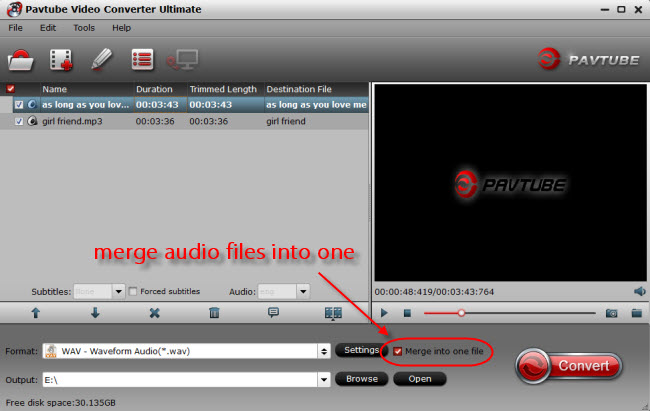 import audio files