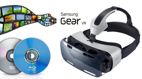 Video to Gear VR system