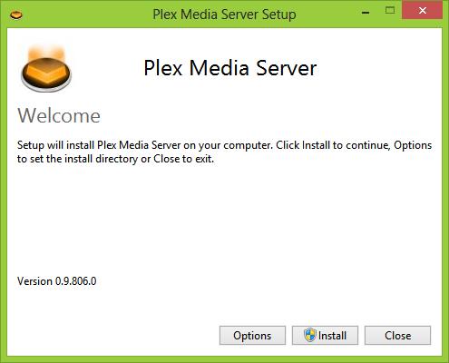 Plex installation