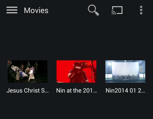 Stream movie to devices via Plex