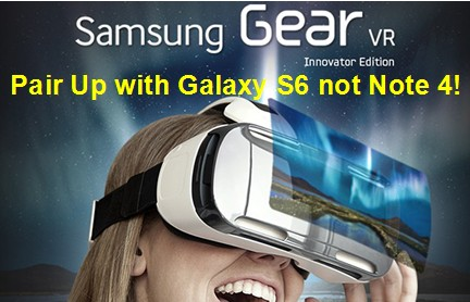 Watch 3D in Galaxy S6 with Gear VR