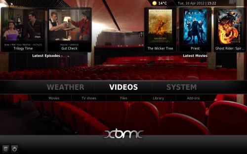xbmc-media-server