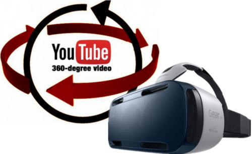 Youtube 360-degree video to Gear VR