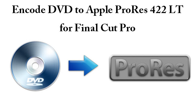 Encode DVD to Prores LT for FCP