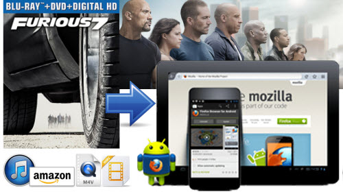 Transfer Digital Copy Furious 7 to Android