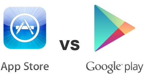 iTunes Google Play comparison