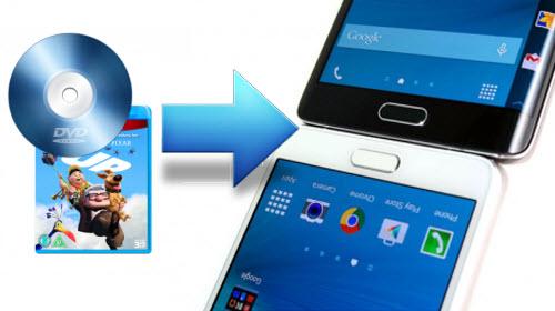 Stream DVD movies to Galaxy S6 S6 Edge